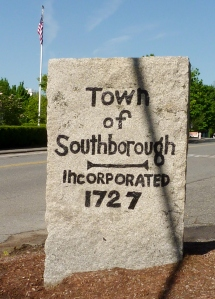 Southborough Stone Marker by Town House